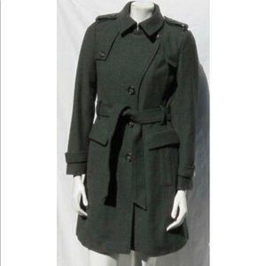 Banana Republic wool trench-style coat